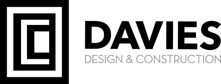 Davies Construction Logo Horizontal Cmyk